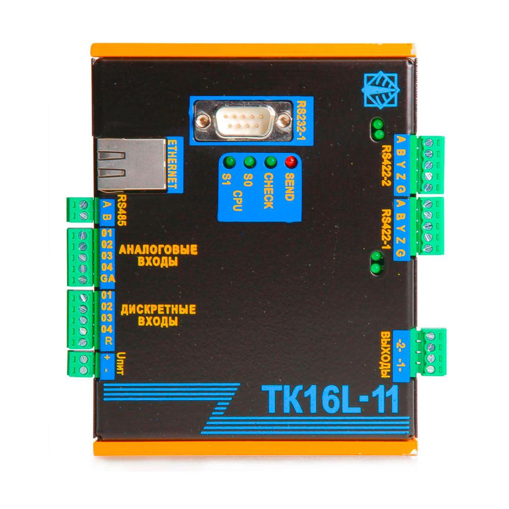 Контроллер терминальный ТК16L.11 вид спереди